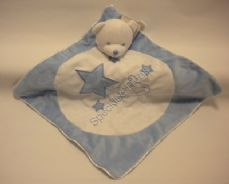 Teddy Comfort Blanket, Blue Star, [BC29]